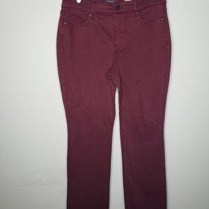 NYDJ Marilyn Straight Stretch Lift & Tuck Jeans